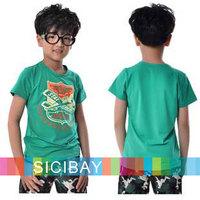Free Shipping Boy Set Baby Clothing Kids Summer Costumes Set Children Boy's Suit Short Sleeve K0521