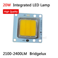 High quality. integrate Bridgelux high power 20W LED Lamp Beads 2100-2400lm diodes White for 30W 60W LED FloodLight  Downlight