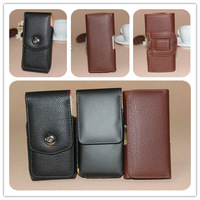 Belt Clip Leather Pouch Bag for Samsung i9250 i9300 i9500 i9082 Sony Lt26i HTC One X M7 Z10