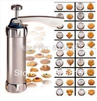 Hot Sale Press Cookie Machine Biscuit Maker Cake Making Decorating Gun Kitchen Tools Set 30-302