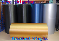 "12""  x 59"" Brushed Vinyls car film 150*30CM 17cc"