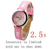Free shipping lady watch wrist set limit to sell cute children watch