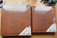 PU paste embossed photo album diy    family photo album  film for   wedding