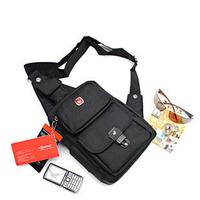 Genuine Swiss Army Brands Men Women fashion leisure sports bag diagonal package oxford cloth bag wholesale, free shipping