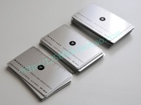 Ruler printing/ stainless steel metal business  card
