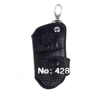 BEIDIERKEGenuine Leather Car Key Cover Case /Black leather key bag for men,Free shopping