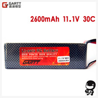 Freeshipping  11.1 V 30C 2600mAh 3S Lipo Li-Po Lipoly Battery  for RC Trex Helicopter & Airplane & Car