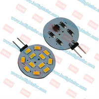 12v DC G4 12 LEDSMD5630 Round,g4 indoor led,g4 led auto,g4 led light