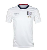 Free Shipping high quality 2013 2014 England home away soccer jersey football shorts soccer uniform jersey Britain beckham FP014