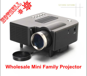New !! Wholesale Mini AV LED Digital Video  Projector  Native 320X 240 Multimedia player