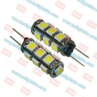 12v DC G4 13 LED SMD5050,g4 caravans light,g4 led light
