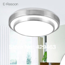 HOT!Double Aluminum Line Led Ceiling Light Dia 350mm AC85~260V Cool White/Warm White Indoor Bedroom Kitchen Lamps,Free Shipping(China (Mainland))