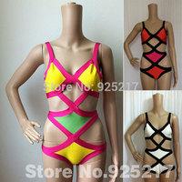 100% Bandage One Piece Swimwear Beach Wear HL Bandage Swimsuits High Quality Wholesale