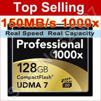 150MB/s Brand 1000x 32GB 64GB 128GB Compact Flash Card 32 g High Speed CF Memory Card For DSLR Camera Full HD 3D Video Camcorder