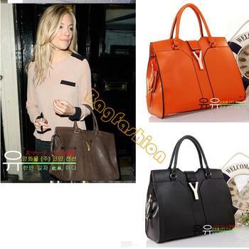 christmas gift Fashion Europe style designer ladies handbag organizer Satchel PU Leather bag popular Practical 3839