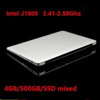 14inch laptop ultrabook notebook computer 4GB DDR3 500GB USB 3.0 intel J1800 2.41Ghz WIFI HDMI webcam