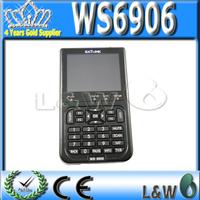 "DHL  Original Satlink WS-6906 3.5"" DVB-S FTA digital satellite meter satellite finder WS6906 1pcs Free Shipping"