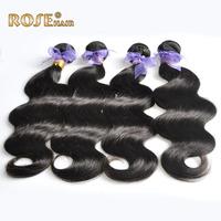 "4pcs/lot Brazilian Virgin Hair weave,Remy Brazilian Hair extension,12-30"" human hair body wave,soft hair weft,DHL fast shipping"