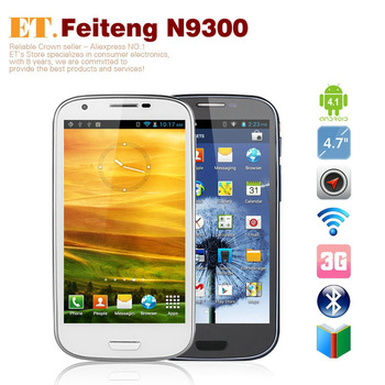 Feiteng GT N9300+ 4.7 inch smart phone 4GB Android 4.1  Dual core 8.0MP Camera WCDMA GPS Dual SIM