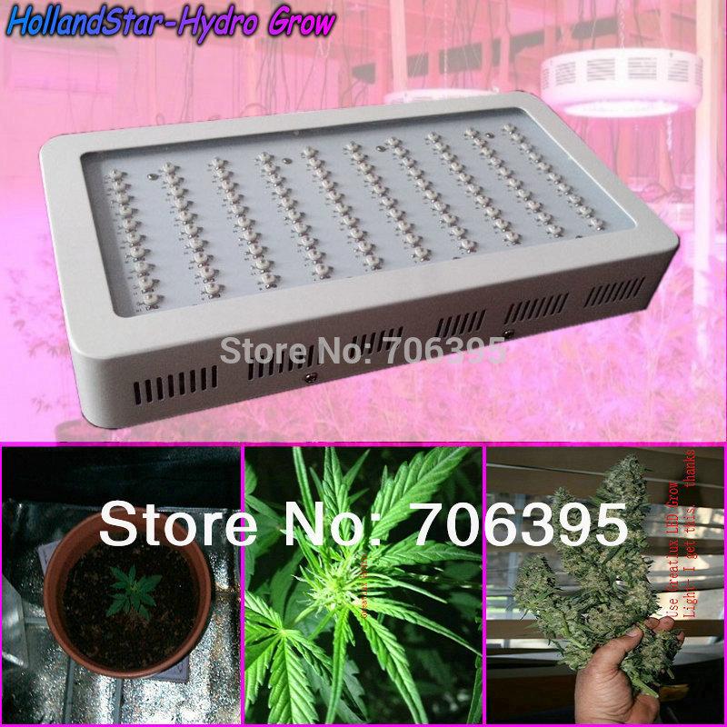 Nova chegada plantas hidropônicas cresce a luz LED de 300W , Banda completa IR 100x3w Grow Painel Lâmpada para o florescimento medicinal, freeshipping(China (Mainland))