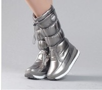 free shipping!2014 new high boots Snow boots edition high japanned leather space boots !Hot sale