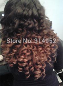 "Brazilian Virgin Hair Deep Curly 4pcs/lot (12""-30"") Color1b Unprocessed Virgin Hair Wholesale Price For Hair Weaves(China (Mainland))"