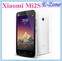 Xiaomi mi2s mobile phone 2G RAM 16G/32GB ROM  Quad Core 1.7Ghz WCDMA 3G MIUI V5 4.3inch 1280*720 8MP/13MP Camera