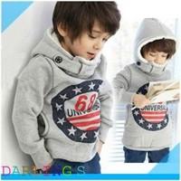 Promotion !! children's Winter Pullovers Boys Hoodies Long Sleeve Autumn Girls Jacket Coat Children Hoodies 2-6yrs Free Shipping