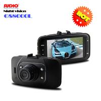 "100% Original GS8000L car dvrs 2.7"" NOVATEK Chipset 1080P FHD night version+G sensor Car video recorder vehicle camera"