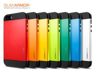 SLIM Tough ARMOR SPIGEN SGP Case For Apple iPhone 5 5S  5G Hard Back Cover Luxury TPU Plastic Cases For iPhone  Wholesale