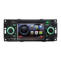 Vehicle Stereo GPS Navigation for Dodge RAM Dakota Durango Auto Radio DVD Player Multimedia Headunit Sat Nav Autoradio Bluetooth
