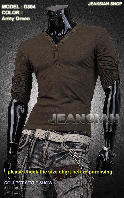 Free Shipping 2012 New Men's T-Shirts,Mens Fashion T-shirts,Casual Slim Fit Stylish Shirts Color:11 Colors US Size:S-M-L-XL D304