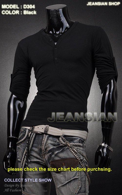 Товары на заказ 2012 New Men's T-Shirts, Mens Fashion T-shirts, Casual Slim Fit Stylish Shirts Color:11 Colors US Size:S-M-L-XL D304