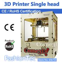 drop shipping CE ROHS 3d printer Free ABS PLA filament material come3D makerbot single extruder machine 3 d printer FDM