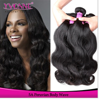 Grade 5A Unprocessed Virgin Peruvian Hair Body Wave,3 Bundles Yvonne Hair Extension,10~28Inches,Natural Color,Free Shipping