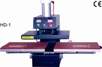 Heat Transfer/Press Machine, Bottom Slide Printer, L380*W380mm, Print T-shirt, Fabric, Glass, Metal, Ceramic, Wood,Video,Digital