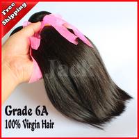 Queen Hair Peruvian Virgin Hair Straight 3pcs/lots Bowin Jack Hair 12-30inch 100g/pcs Natural Black Color Can Be Dye