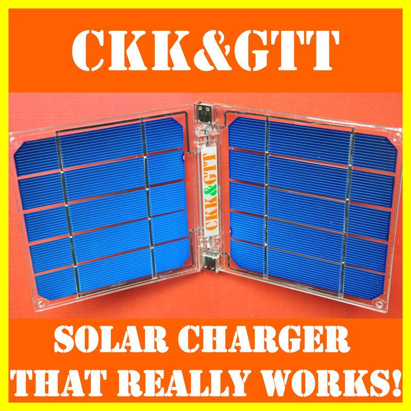 CKKGTT Solar Charger, Solar Power Bank, Solar Panel Charger, Foldable Portable Backup Power Energy, Phone Tablet AA Battery(China (Mainland))