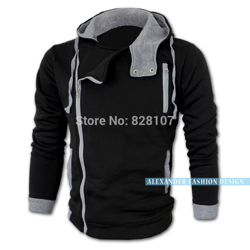 2014 Fashion Brand Hoodies Men,Casual Sportswear Man Hoody,Assassion Creed Sweatshirt Men,Plus Size,Slim Fit Clothing Men(China (Mainland))