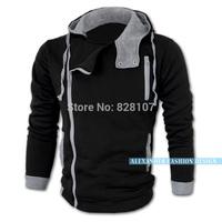 2014 Fashion Brand Hoodies Men,Casual Sportswear Man Hoody,Assassion Creed Sweatshirt Men,Plus Size,Slim Fit Clothing Men