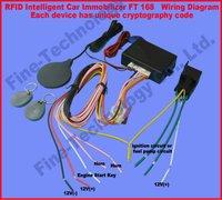 brand new free shipping RFID key fob transponder immobilizer car accessory anti-theft auto-arm car alarm
