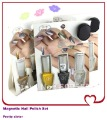 FREE SHIPPING 7ml / bottle + 30 colors available 3pcs per set Magnetic Nail Polish With Magnet Slice ITEM NO.1204179