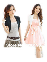 2014 ice silk short-sleeved colorful cardigan sweater shawl,jacket shrug for women, bolero outwear drop ship