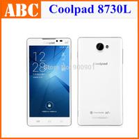 "Original Coolpad 8730L Android 4.3 4G LTE 5.5"" Mobile Phone Quacomm MSM8926 Quad Core 1GB RAM 8GB ROM 8MP 2500mAh 3G WCDMA GPS"