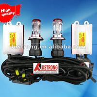 slim hid kit car light Bi xenon H4 dual beam kit canbus hid conversion kit 55w light H13/9004/9007H/L