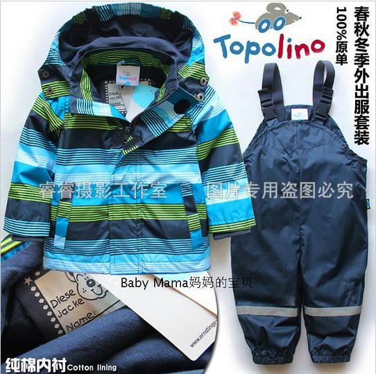 Vêtements pour enfants vêtements de plein air vent topolino enfant bébé garçon cardigan. ensemble. pantalons, libre. shippingkids burst modèles conviennent