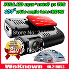 "1920*1080P Full HD car camera with 170 degree lens wide angle 4 LED night vision 2.0"" LCD+HDMI+AV Out car DVR car recorder(China (Mainland))"