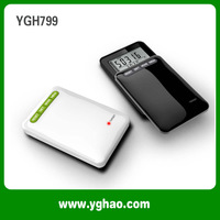 2014 Special Multi  Function Pedometer 3d Sensor /7day Memory/clocks Best Pedometers Haptime Ygh799 Free Shipping