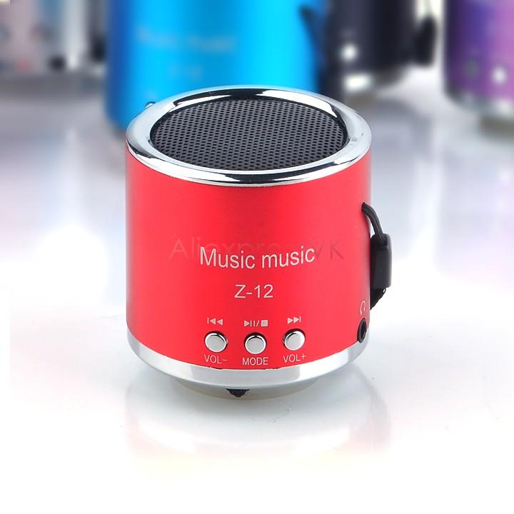 2014 New Wireless Portable Mini Speaker Computer Amplifier FM Radio USB Micro TF Card MP3 Player 6 Colors 25(China (Mainland))