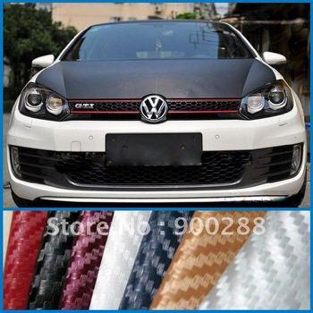 3D Carbon Fiber Wrapping Vinyl Sticker DIY Material For Auto Car.(60''x1180'' -TR1)